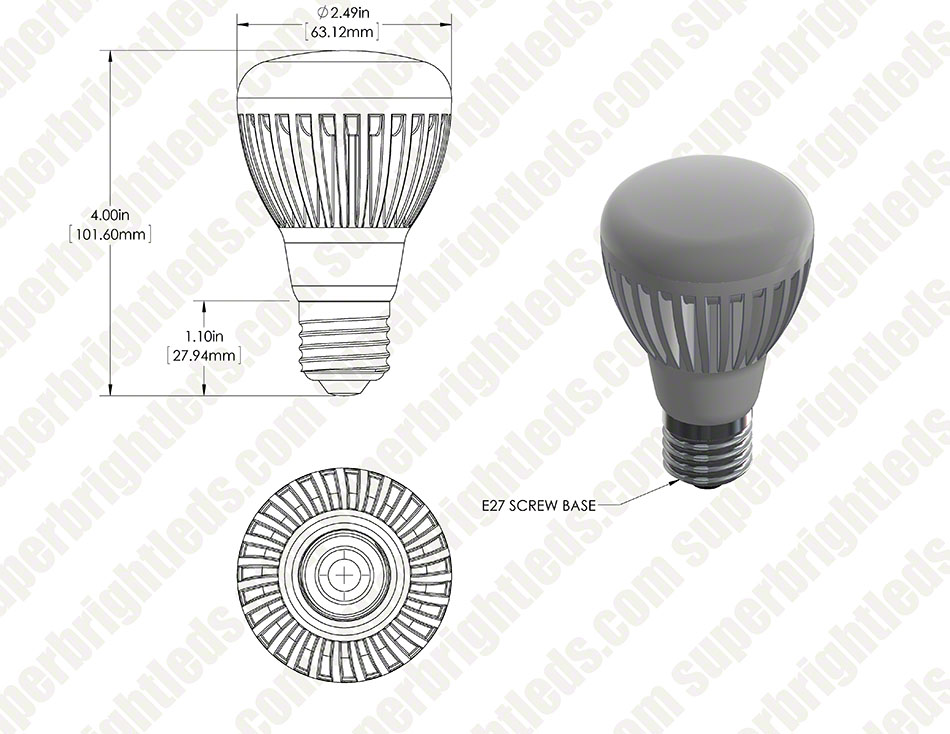 R20 Led Dimmable Flood Light Bulbs