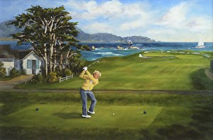 Shelley Cost   Work Detail  Jack Nicklaus  1972 US Open Champion     Jack Nicklaus  1972 US Open Champion  Pebble Beach