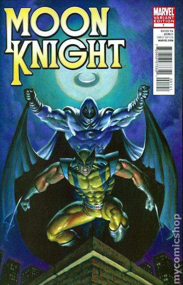 Moon Knight (2011 4th Series) comic books