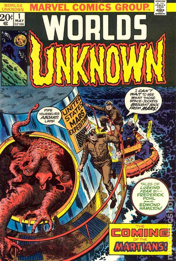 Worlds Unknown 1973 Marvel Comic Books