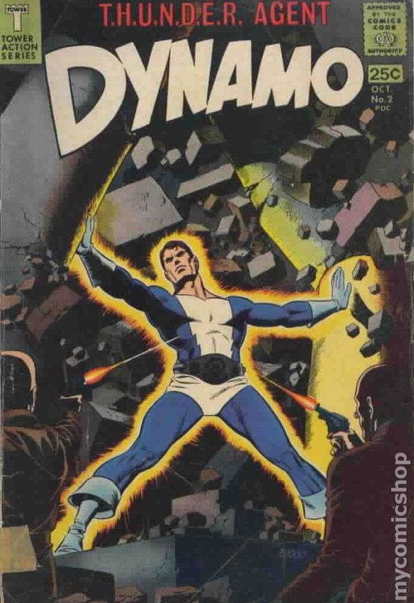 Dynamo 1966 Tower Comics Comic Books