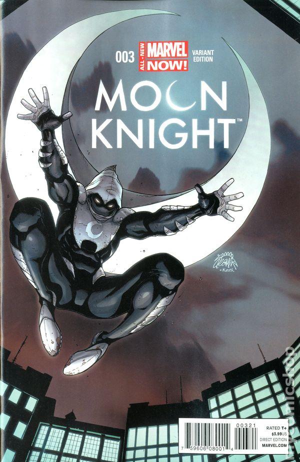 Moon Knight (2014 5th Series) comic books