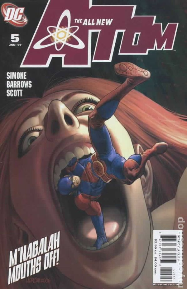 All New Atom 2006 Comic Books