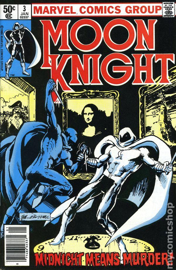Moon Knight (1980 1st Series) comic books