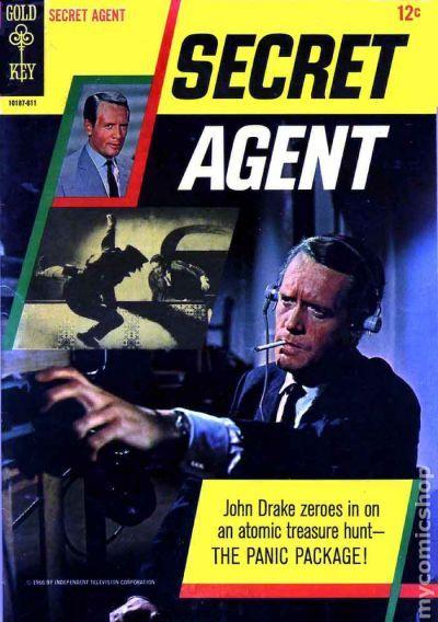Secret Agent 1966 68 Gold Key Comic Books