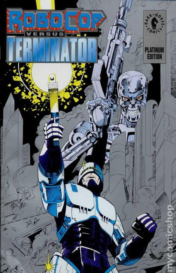 Robocop Vs Terminator 1992 Platinum Edition Comic Books