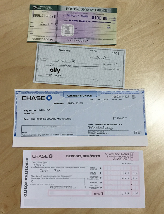 Can Any Bank Cash Personal Check