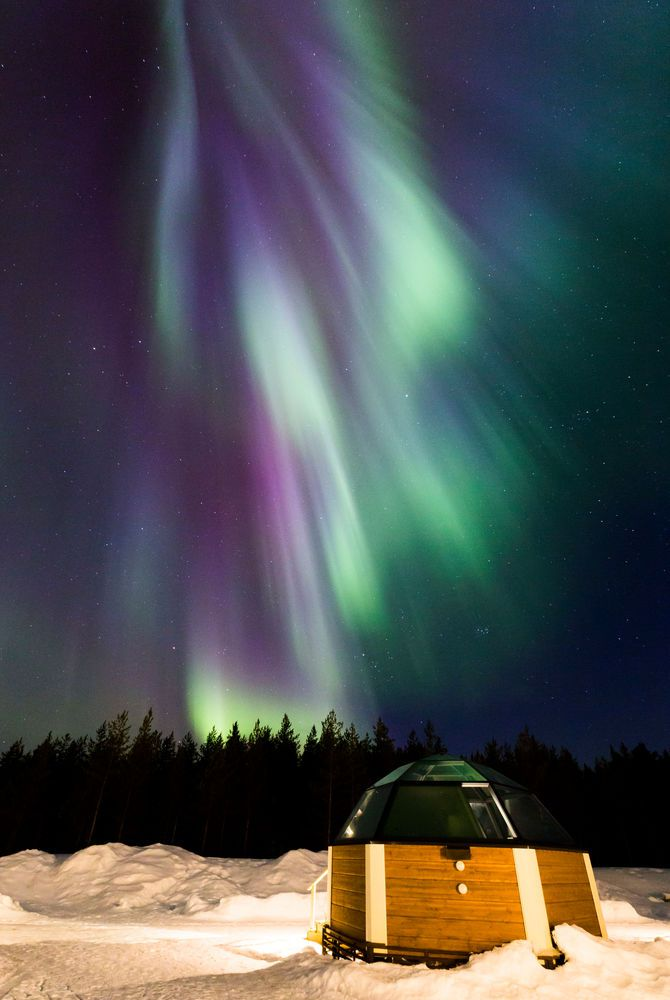 Northern Lights Igloo Holiday