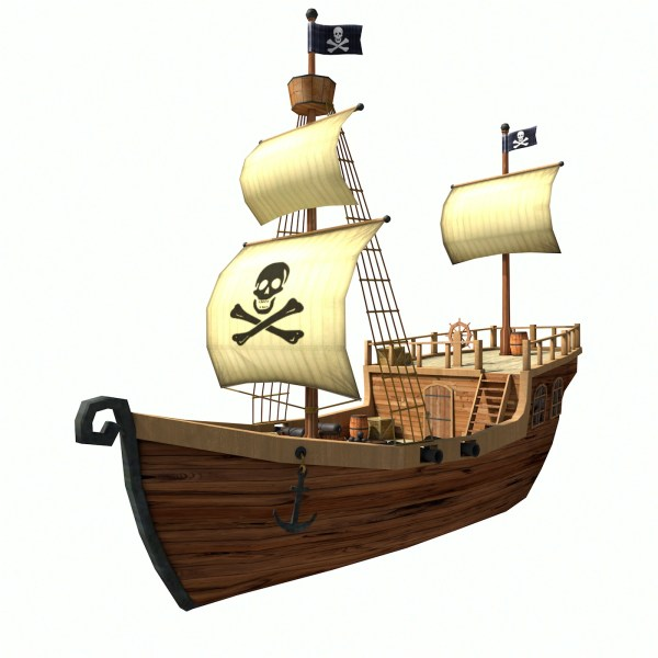 pirate ship # 64