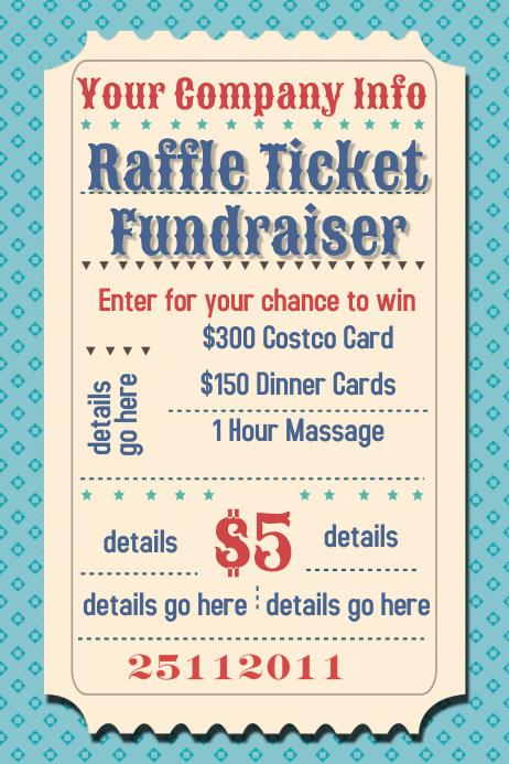 Examples Ticket Fundraiser