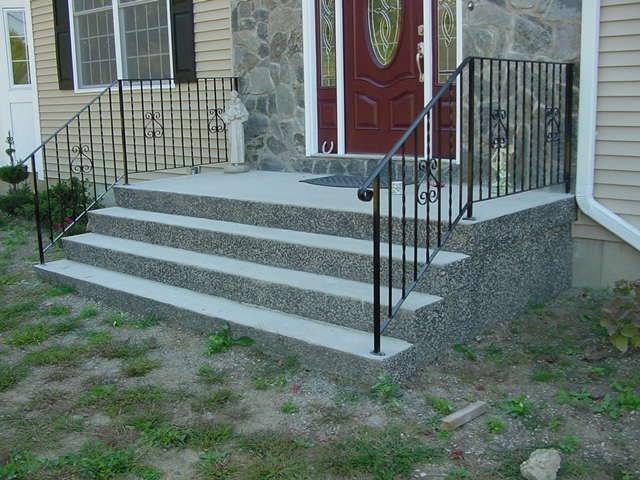 Precast Concrete Steps Concrete Products In Danbury Ct Mono | Bilco Precast Basement Stairs | Walkout Basement | Egress | Basement Entry | Precast Concrete Steps | Basement Entrance