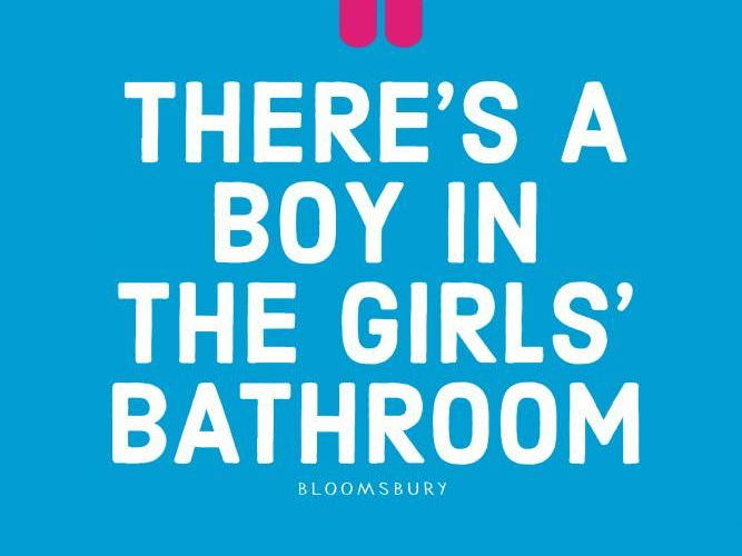 Boy Bathroom Name Author Theres Girls Book