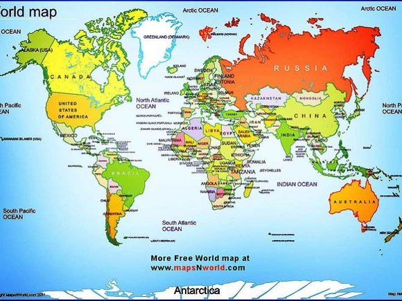 Continents and Oceans by edrh23 - Teaching Resources - Tes