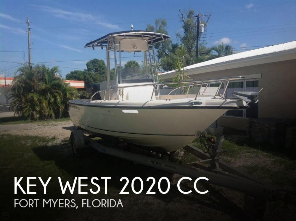 Console West 2006 2020 Dual Key Boat