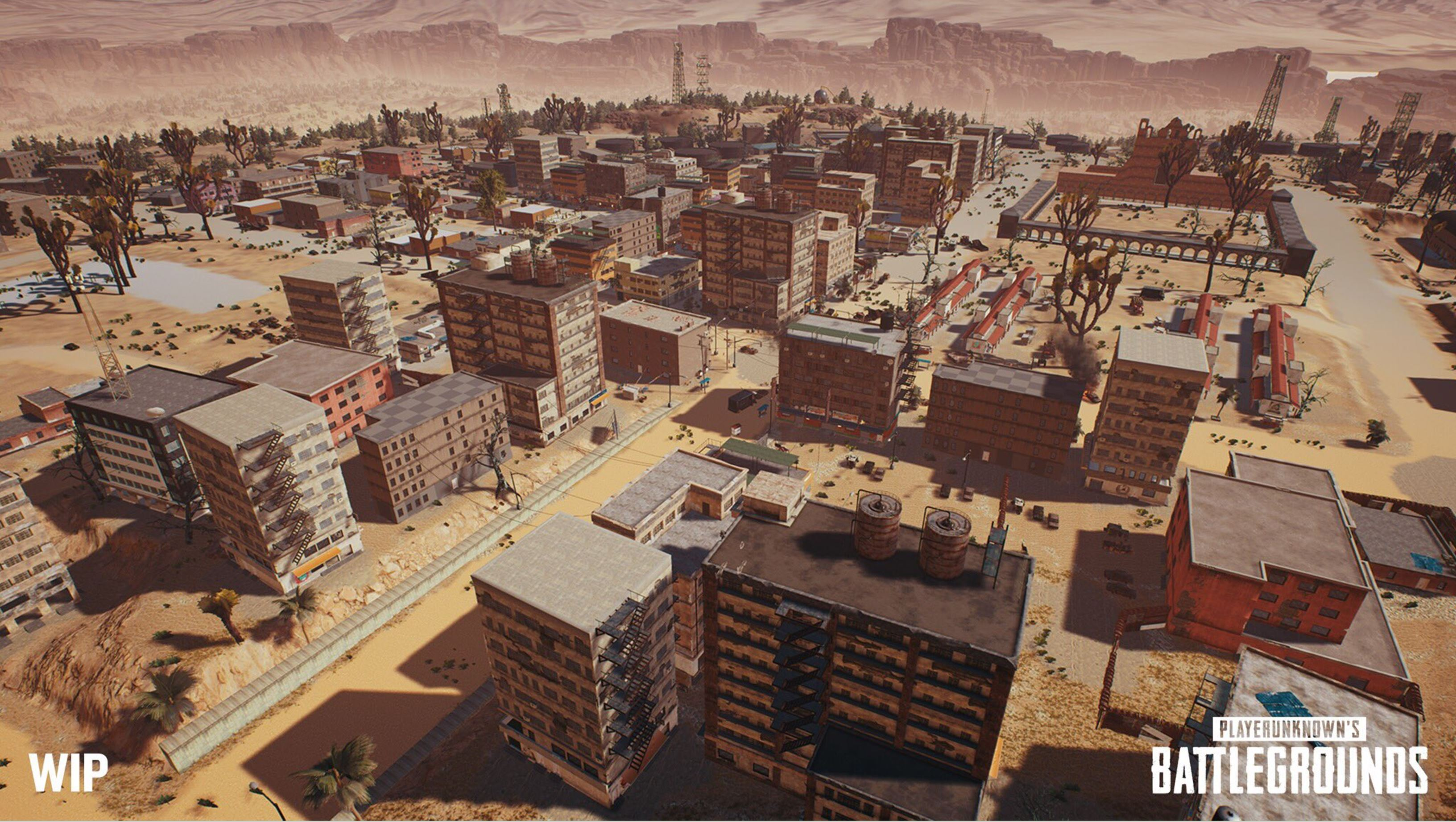 New PUBG Map Puts Desert Before Chicken Dinner   Shacknews Many of the structures are much larger than those seen in the PUBG s  default map