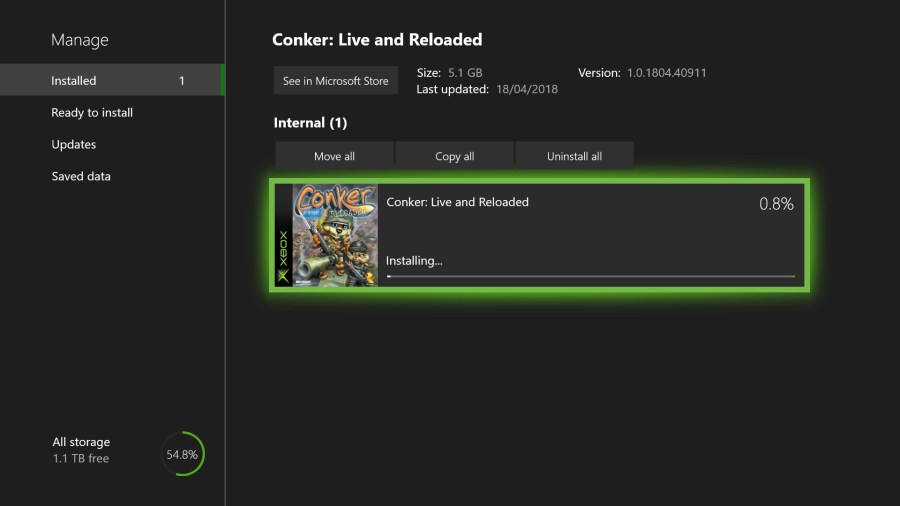 How to Play Original Xbox Games on Xbox One   Shacknews Once the game has finished installing  you will be able to launch it from  the Home screen or from My Games   Apps
