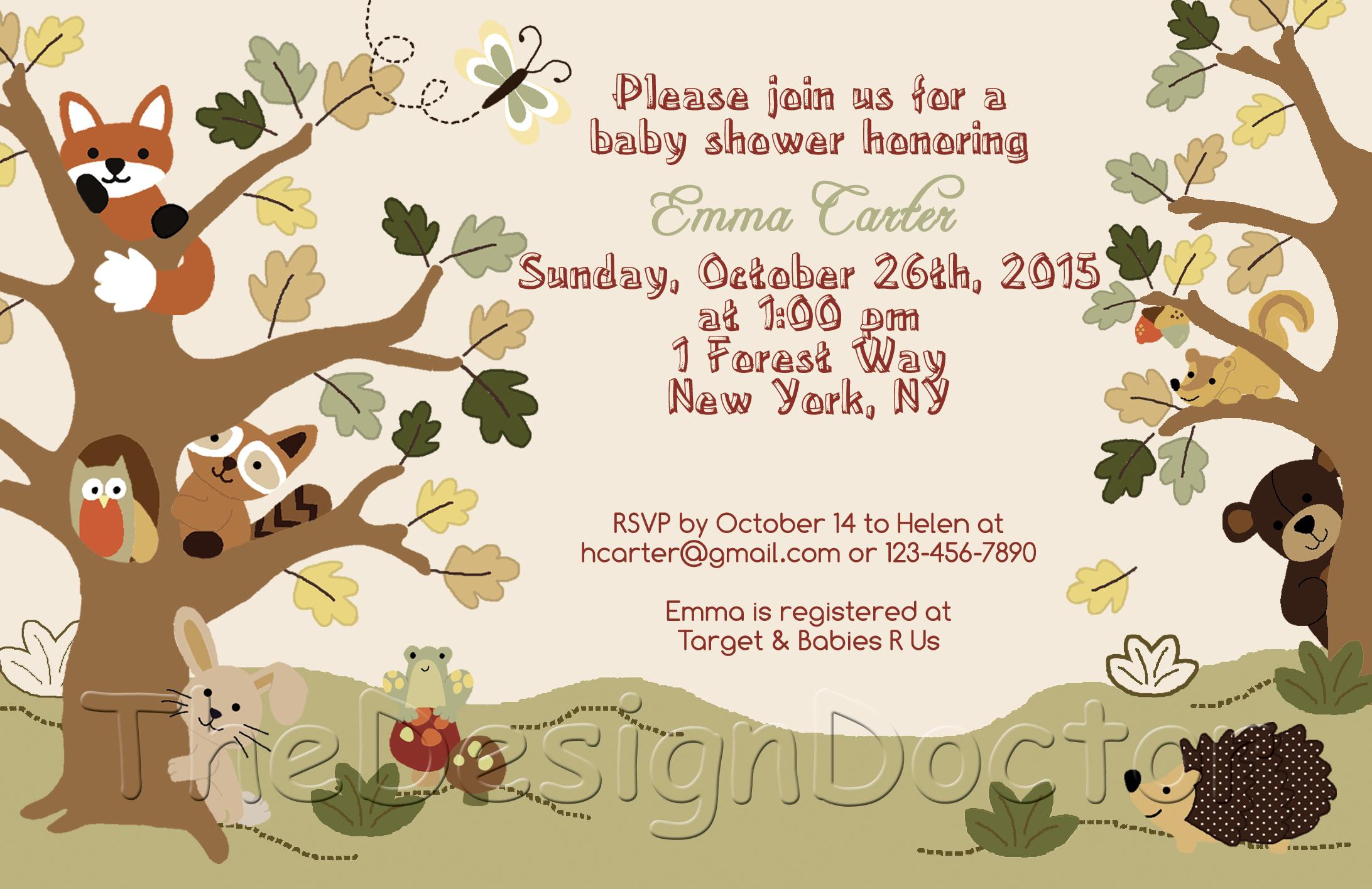 Baby Shower Invitations Vistaprint