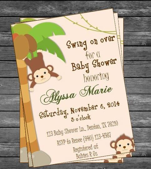 Baby Shower Invitations Cvs