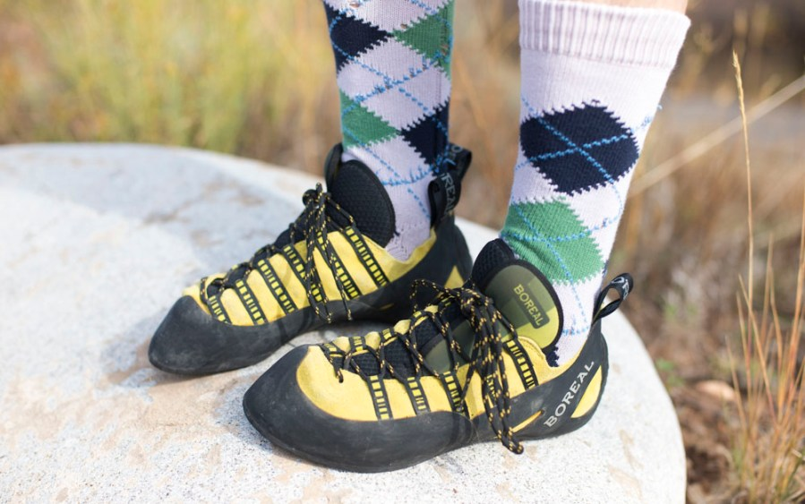 Gear Guy  Is It Okay to Wear Socks with Rock Climbing Shoes     Fashion changes  style endures