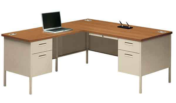 All Metro Classic Series L Shaped Desk By Hon Options
