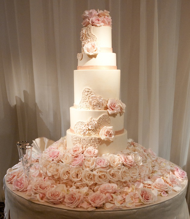 Tall Wedding Cakes   Wedding Ideas   Inside Weddings Sweet inspiration for your wedding cake