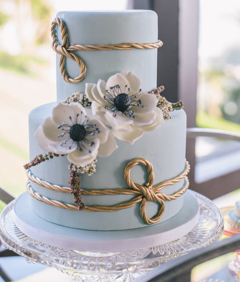 Baby Blue And Gray Wedding Theme