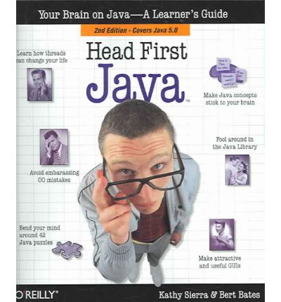 Head First Java : Bert Bates Kathy Sierra : 9781435291799
