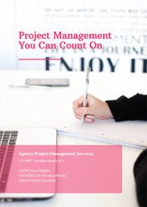 Free Business Proposal Templates   Proposify Project Management Proposal Template