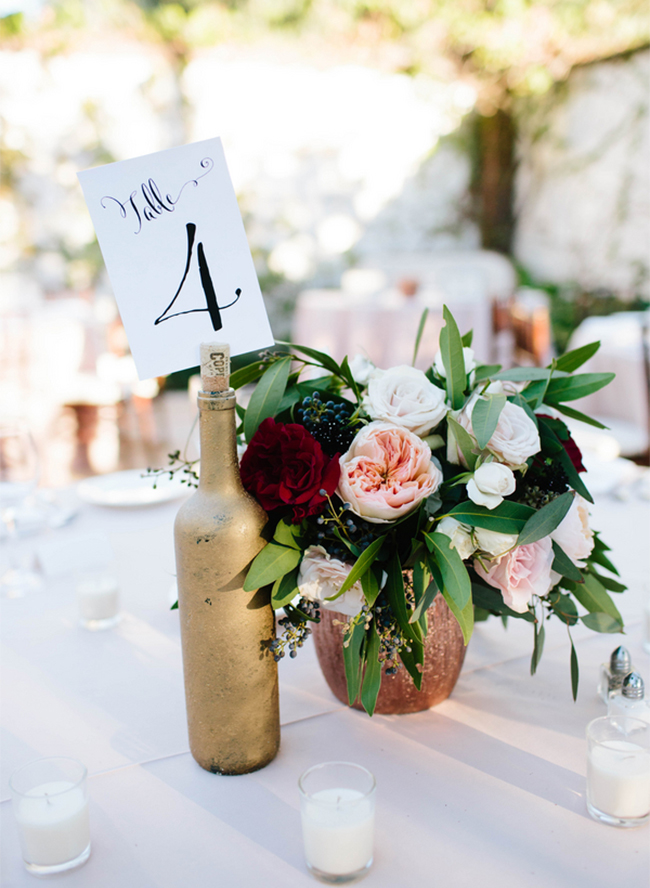 Fall Bridal Shower Centerpieces