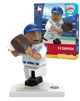 OYO Sports   Chicago Cubs OYO minifigures   buildables Chicago Cubs Pitcher