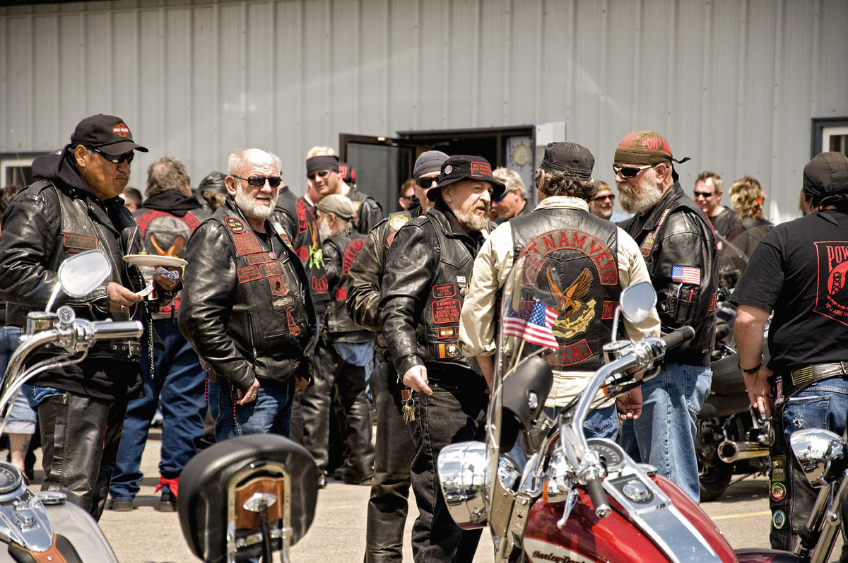 Why do many Outlaw biker gangs have former military ...