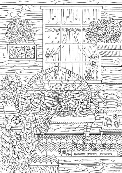 Landscape Horses Drawings