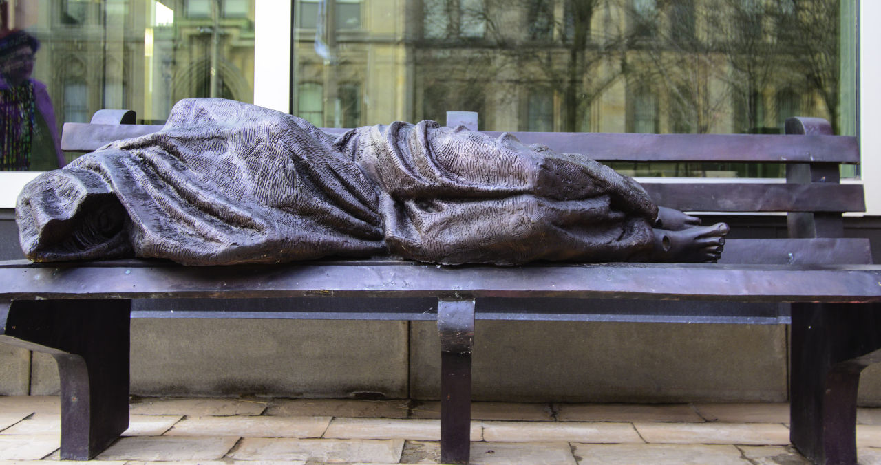 Homeless Jesus Statue Gets Mixed Reviews In Indianapolis