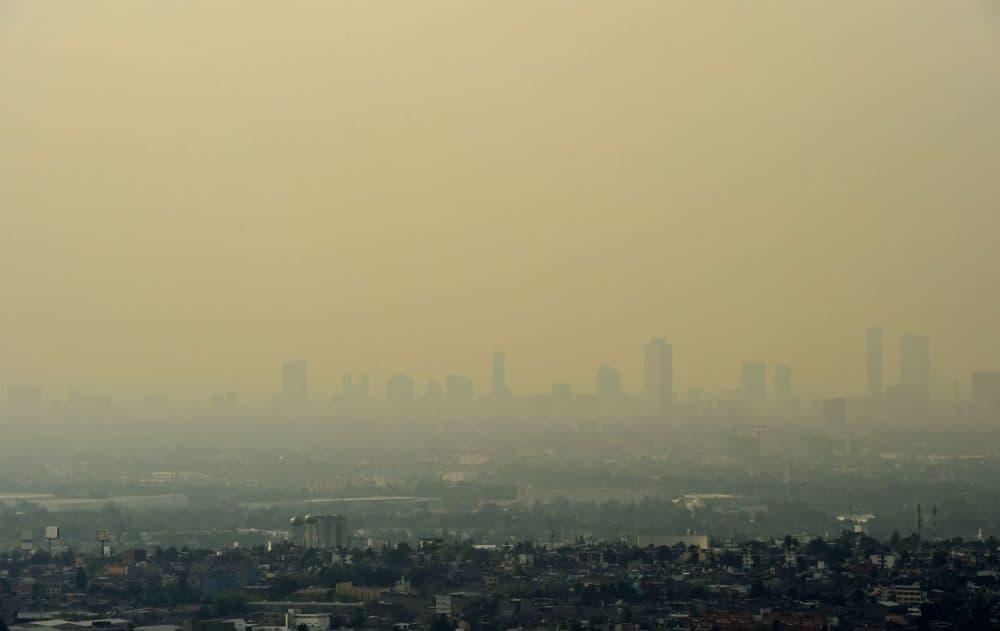 Pics City Pollution Mexico
