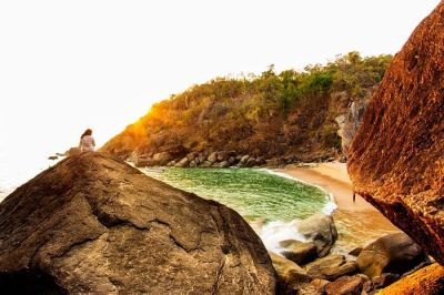 Here's Why You Shouldn't Miss Butterfly Beach In Goa