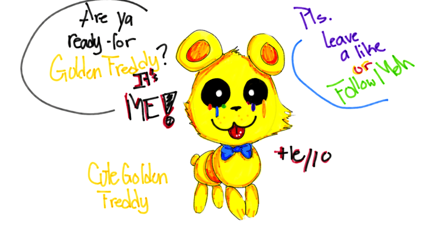 F Naf Yellow Freddy Cute
