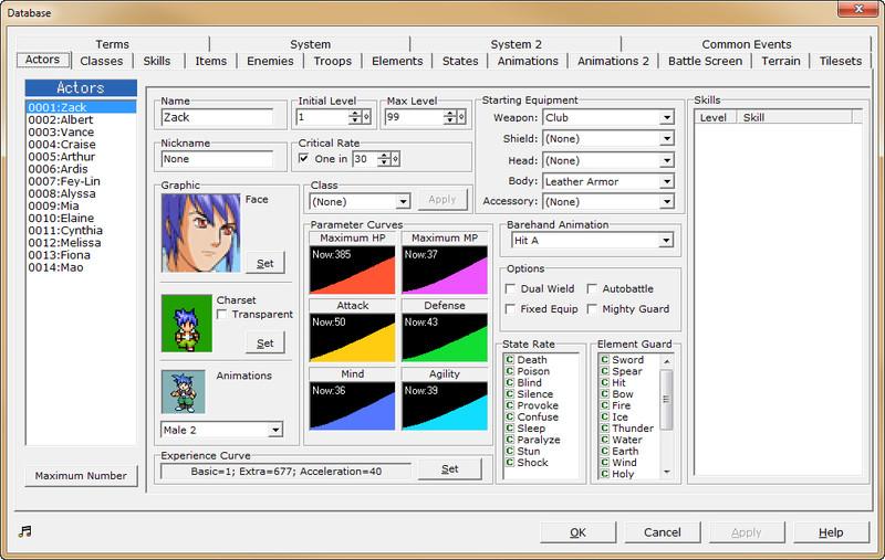 Rpg Maker 2003 Sprites