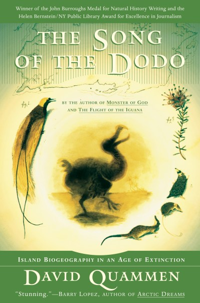The Song of the Dodo | Book by David Quammen | Official ...