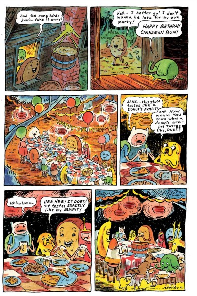 Adventure Time  Sugary Shorts Vol  1   Book by Paul Pope  Aaron         Adventure time sugary shorts vol 1 9781608863617 in09