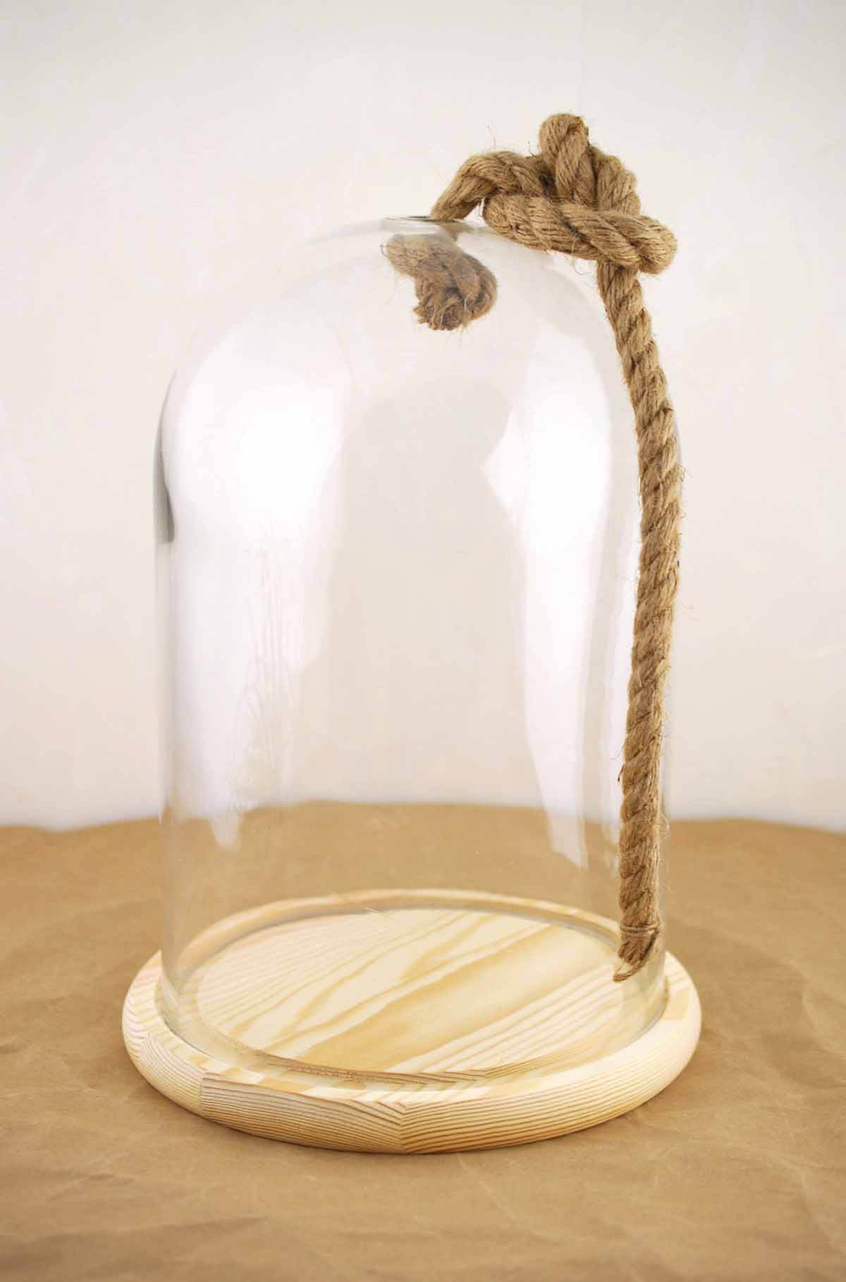 Bell Jar With Rope 12 Quot Nautical