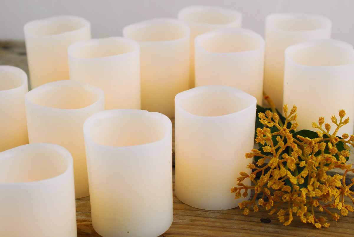 Battery Operated Votive Lights
