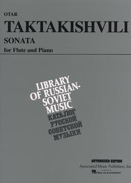 Sonata For Flute Sheet Music By Otar Taktakishvili   Sheet Music Plus Sonata for Flute