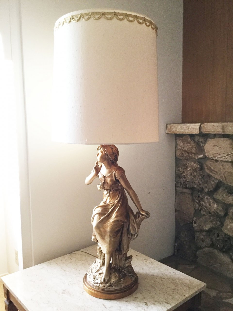 I Have 3 Marbro Lamps With Original Shades They Are In