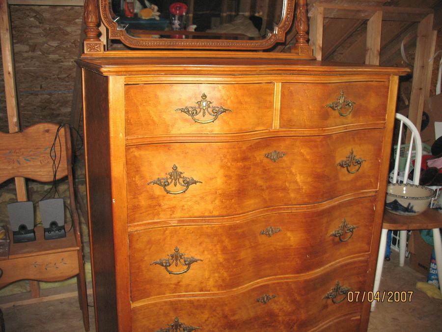 Tall Bedroom Dresser
