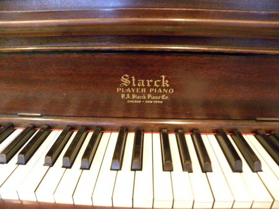 I Have A P A Starck Grand Player Piano Serial 104562