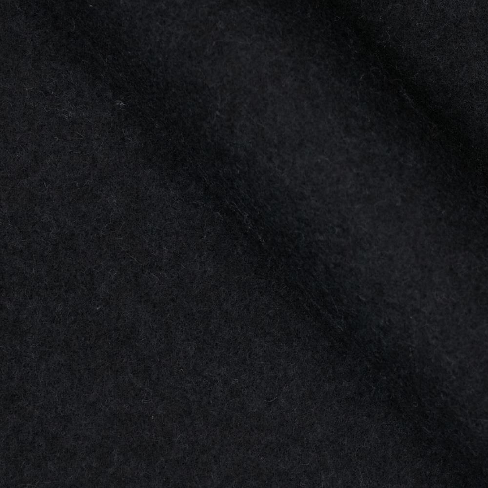 Fleece Black Fabric White And