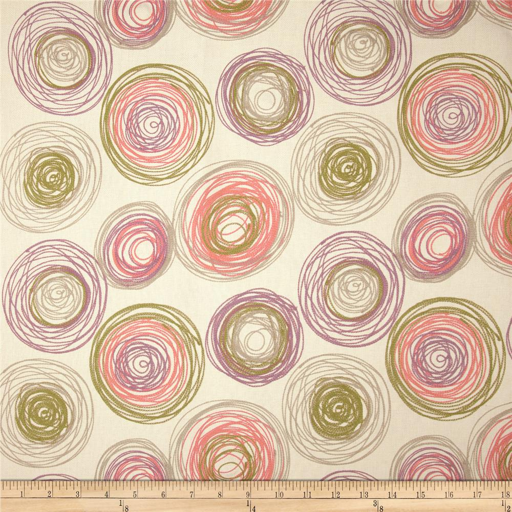 Embroidered Home Decor Fabric