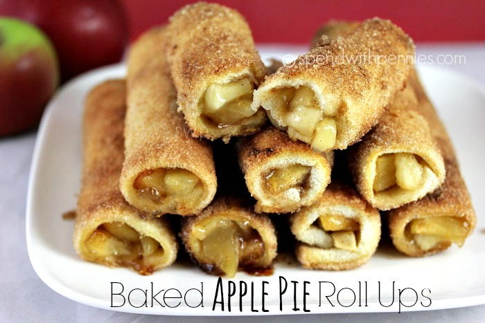 Baked Apple Pie Roll Ups Recipelion Com
