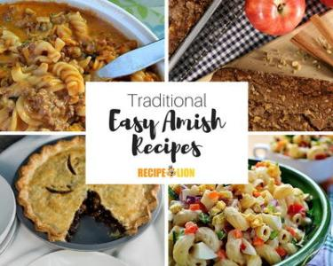 22 Traditional Amish Recipes   RecipeLion com Traditional Amish Recipes
