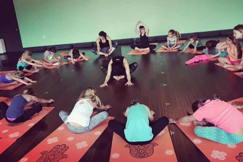 Fundraiser by Amor Flores   BIG Apple for HTX Kids Yoga Teacher Donate Now Not now